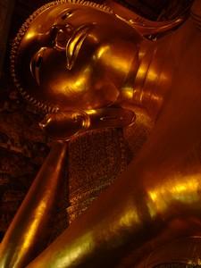 Big Buddha Wat Po in Bangkok, Thailand