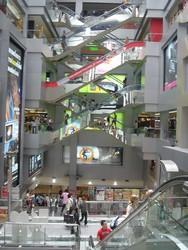 Inside MBK Mall in Bangkok