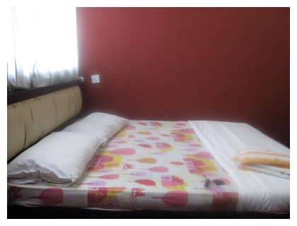 our room at skuba junkie in Semporna