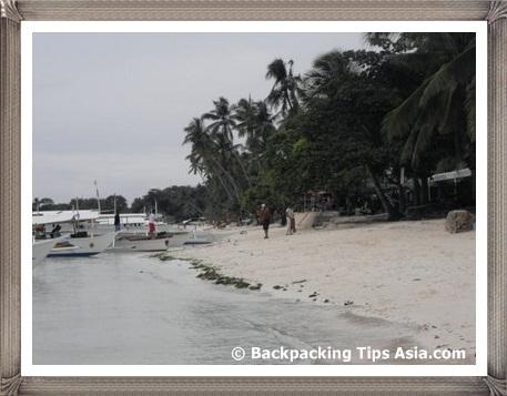 Alona Kew Beach in Bohol island, Philippines