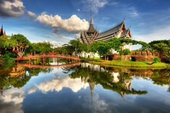 Ancient City Muang Boran outisde Bangkok Thailand Photo: Wolfgang Steiner ©iStockphoto.com/Wolfgang Steiner