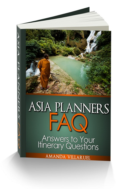 Asia Planners FAQ Itinerary ebook