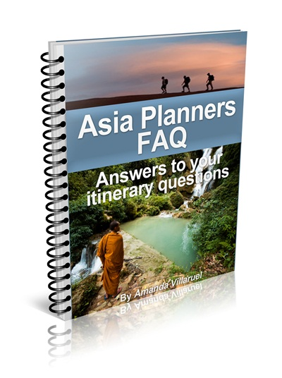 backpacking tips asia asia planners FAQ cover ebook