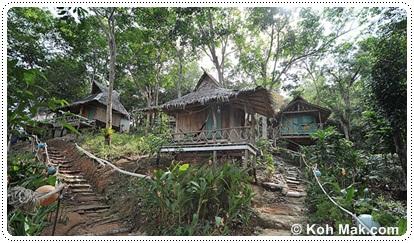 Baan Ing Kao bungalows in Koh Mak