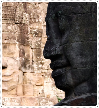 bayon in cambodia