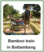Bamboo train thumb naik