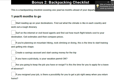 backpacking checklist print shot