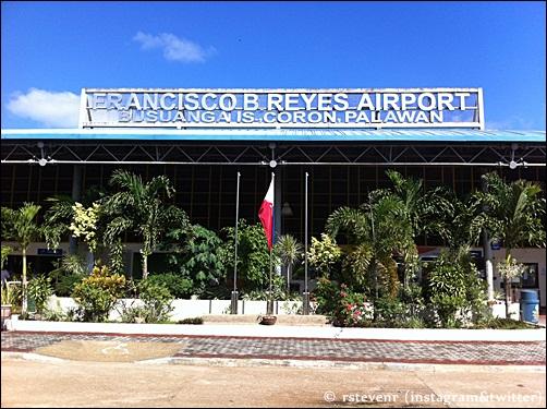 Busuanga airport in Coron, Palwan Philippines