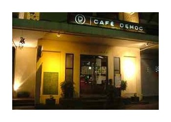 Cafe Democ in Bangkok, Thailand