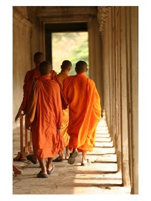 Novices in Cambodia, ©iStockphoto.com/davidmody
