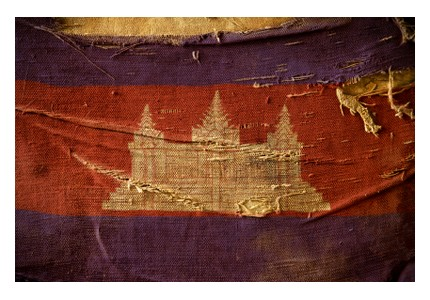 Cambodian flag, ©iStockphoto.com/Photolyric