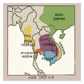 Funan Chenla kingdom