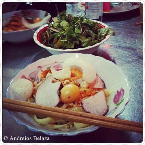 Cau Lao Vietnamese dish in Hoi An