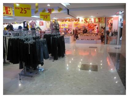 Centrepoint mall in Kota Kinabalu