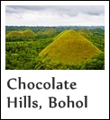 Chocolate Hills in Bohol Island, Philippines