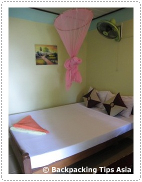Room at Coasters in Serendipity beach in Sihanoukville, Cambodia