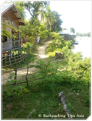 Don Det island in South Laos