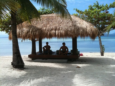 Arreceffi island in Palawan, Philippines