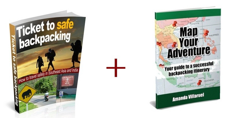 map your adventure southeast asia ebook cover 3D backpacking tips asia