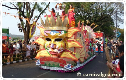 Carnival in Goa, photo courtesy of carnivalgoa.com
