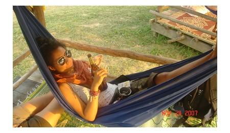 Me in Vang Vieng, Laos
