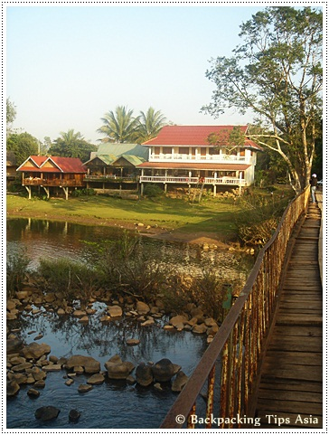 Guesthouses near Tad Lo waterfalls