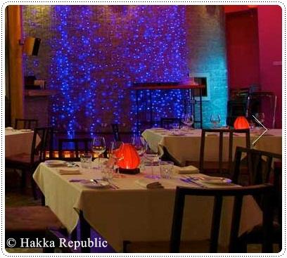 Wine at Hakka republic restaurant in Kuala Lumpur