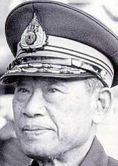 General Thanom in Thailand