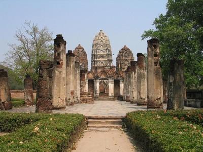 Sukhotai kingdom in ancient Thailand