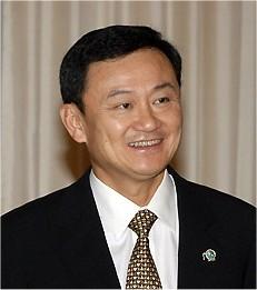 Former prime minister Thaksin