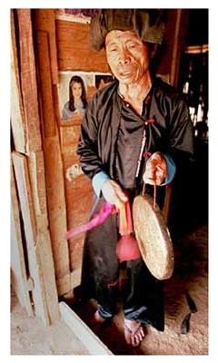 A Hmong shaman