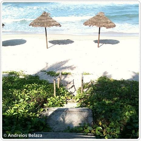 Cuai Dai Beach in Hoi An in Central Vietnam
