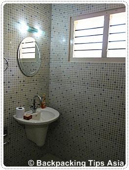 Bathroom at Venice Castle in Alleppey, Kerala