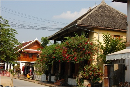 Houses in Luang Prabang