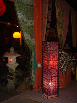 Inside Bohemian Bar in Chang Mai Thailand