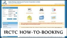 IRCTC step by step train travel in india train tickets india