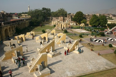 Jahar Mantar attraction in Jaipur, India, ©iStockphoto.com/Robert Bremec