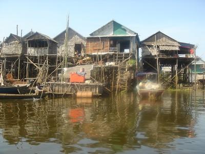 Kampong Phluk Tours Siem Reap Cambodia