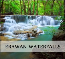 Erawan waterfalls
