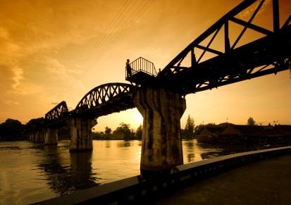 River Kwai Bridge in Kanchanaburi, ©iStockphoto.com/Martin Maun