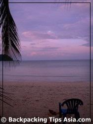 Thong Nai Pan beach in Koh Pha Ngan island, Thailand