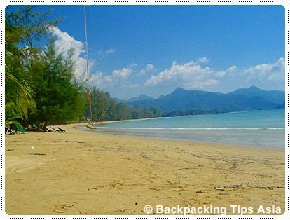 Koh Mak beach in Thailand, not far from Ko Chang island