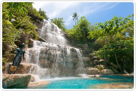 Waterfall in Koh Pha Ngan, Thailand. Photo courtesy of ©iStockphoto.com/pidjoe