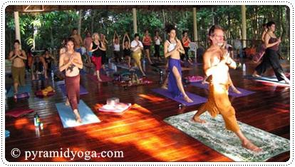 Pyramid Yoga in Koh Phangan, Thailand