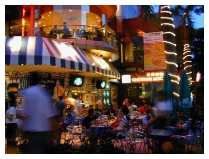 Nightlife in Kuala Lumpur, Malaysia