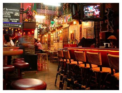 Reggae bar in Kuala Lumpur