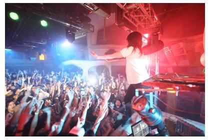 Nightlife at Zouk club in Kuala Lumpur, Malaysia