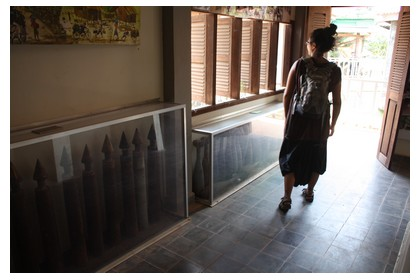 Visiting the Landmine Museum in 2010