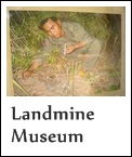 Aki Ra and landmines in Cambodia