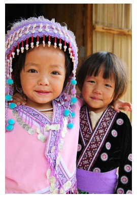 Hmong children in Laos ©iStockphoto.com/Daniel Cole